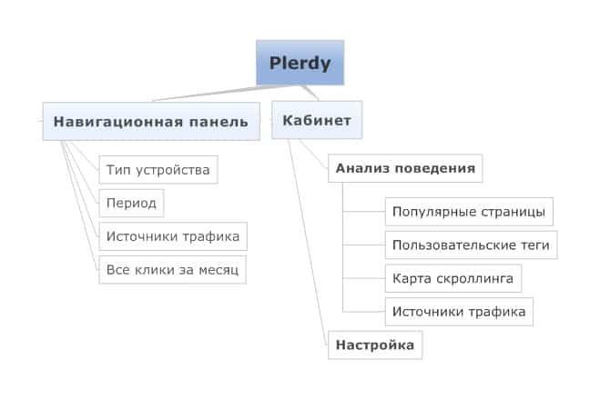 Plerdy структура