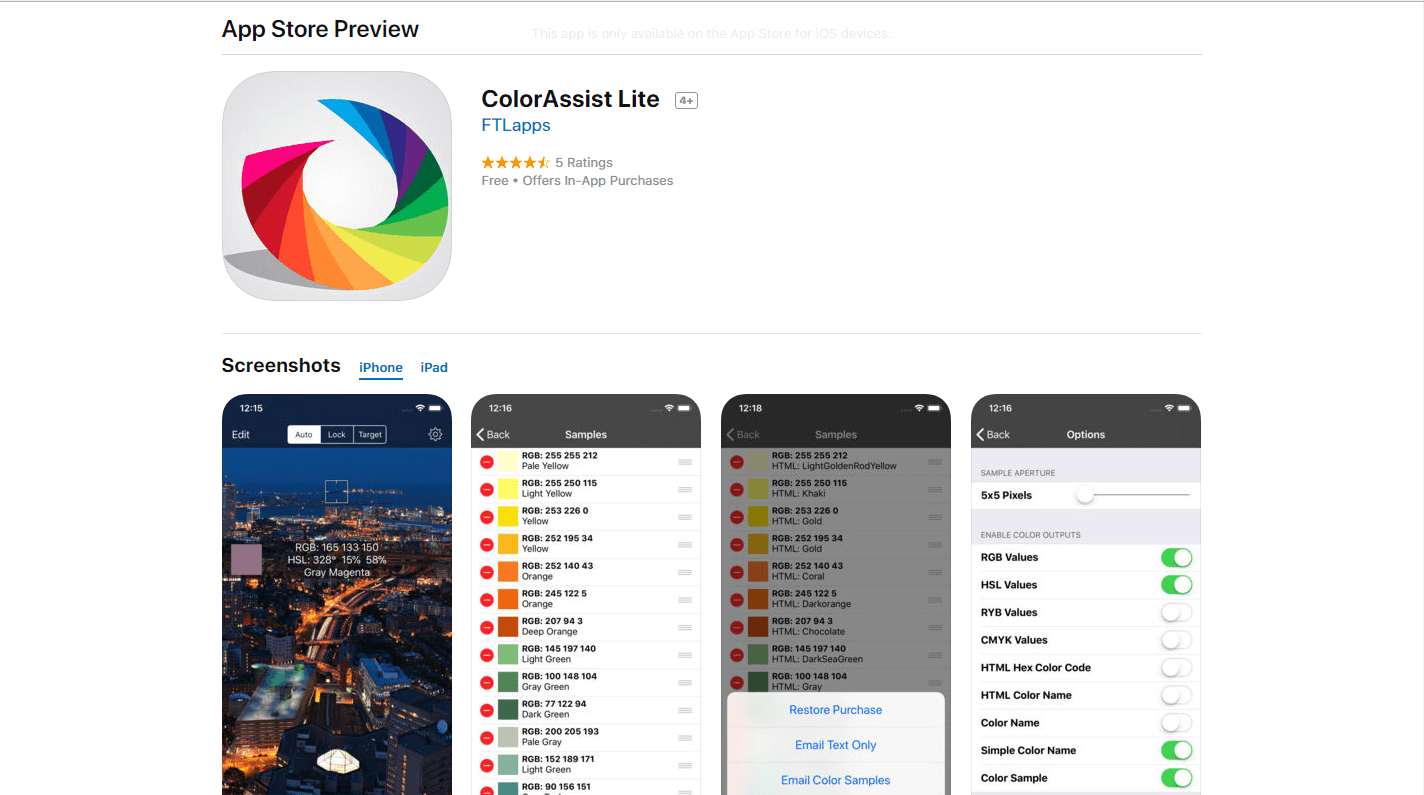 ColorAssist Lite