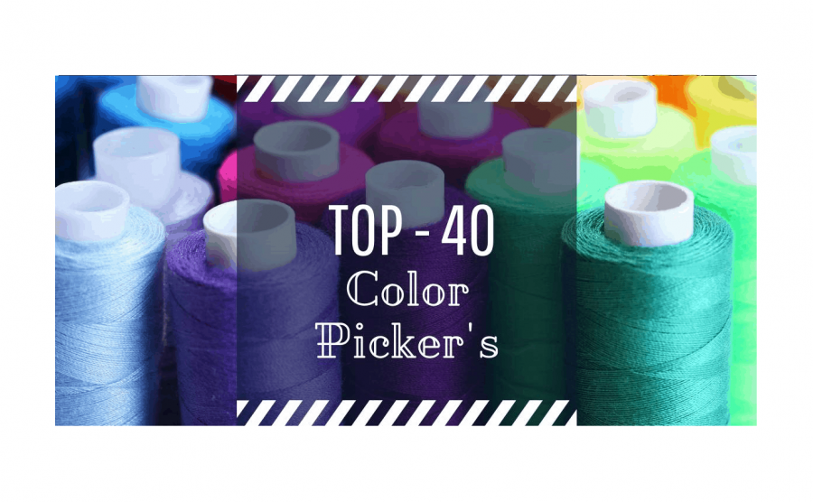 TOP-40 Color Pickers and other color matching tools