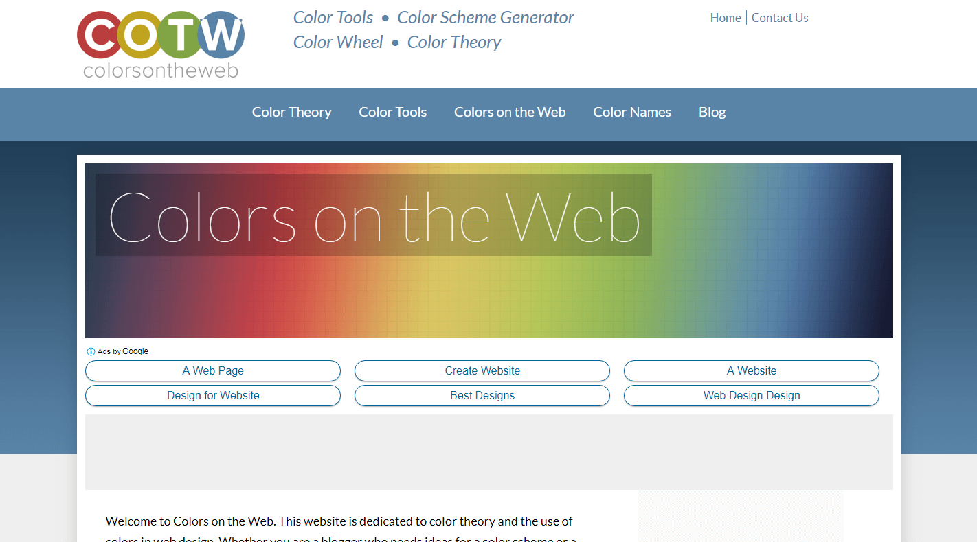 Colorsontheweb