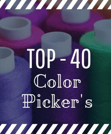 TOP-40 Color Pickers та інших інструментів для підбору кольору