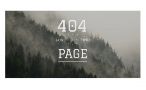 TOP - 50 сторінок 404 відомих компаній