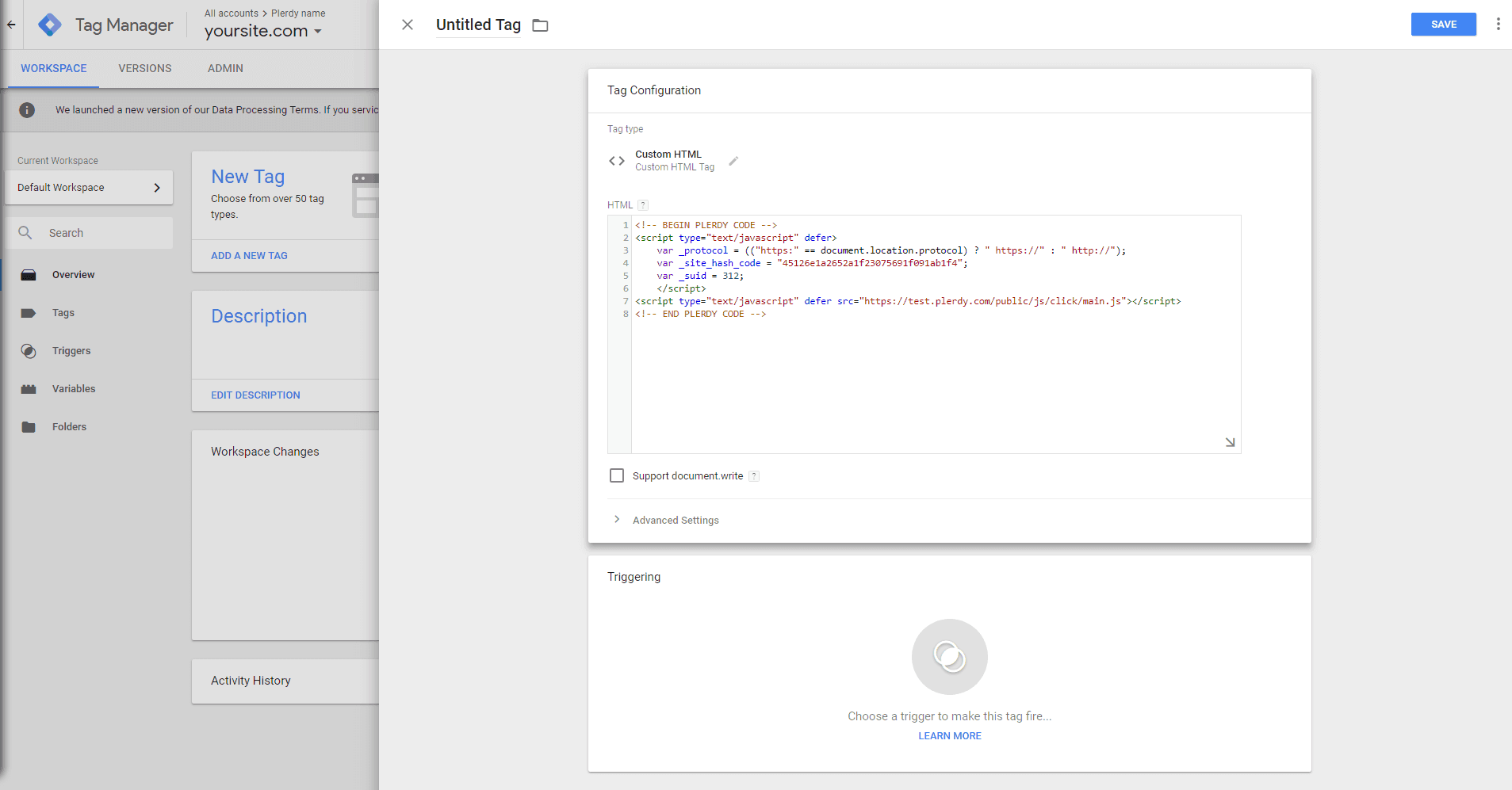 Plerdy with Google Tag Manager-en-11