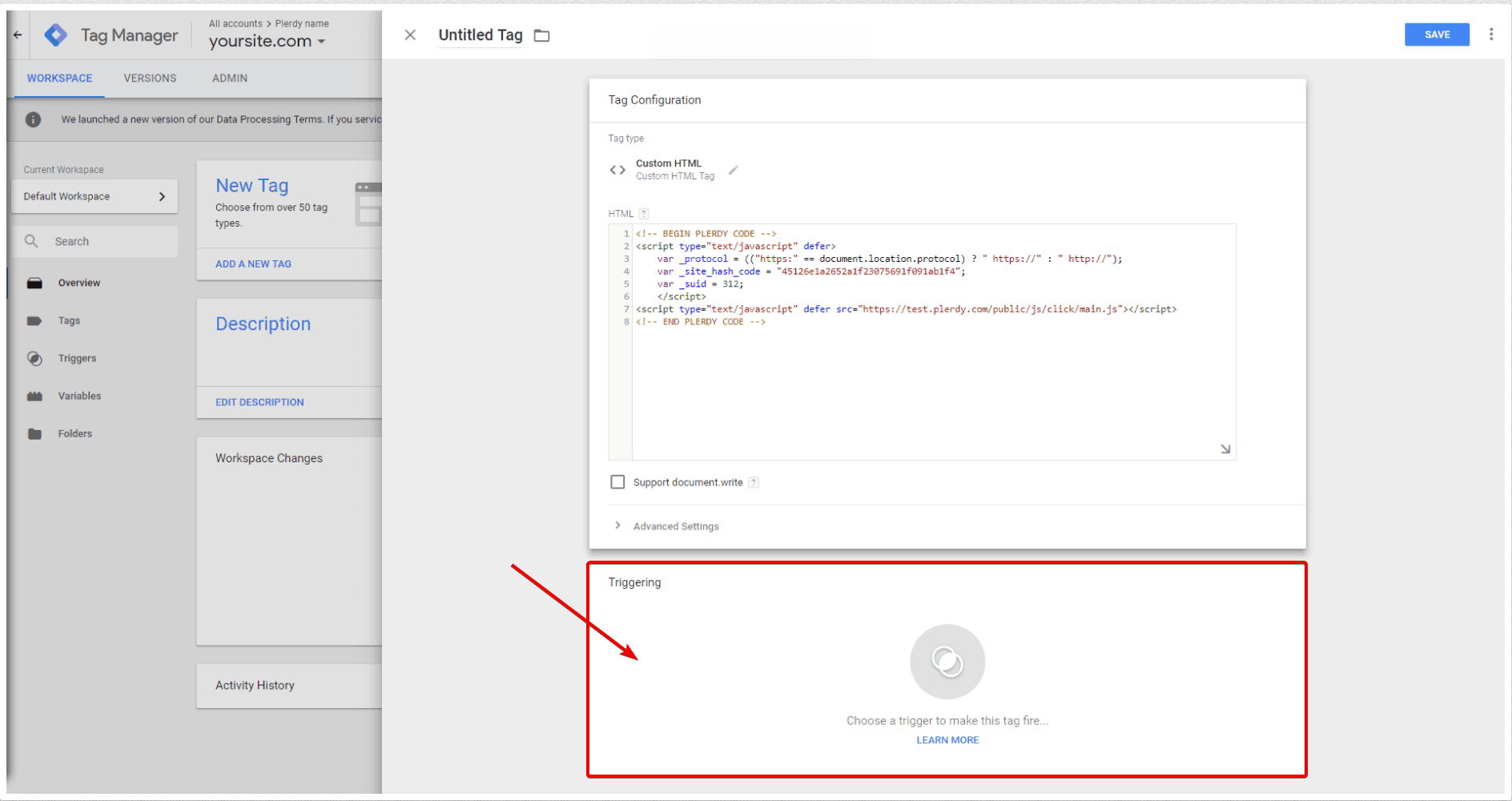 Plerdy with Google Tag Manager-en-13