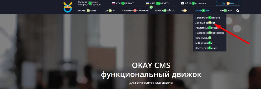 Аудит юзабилити сайта CMS-04