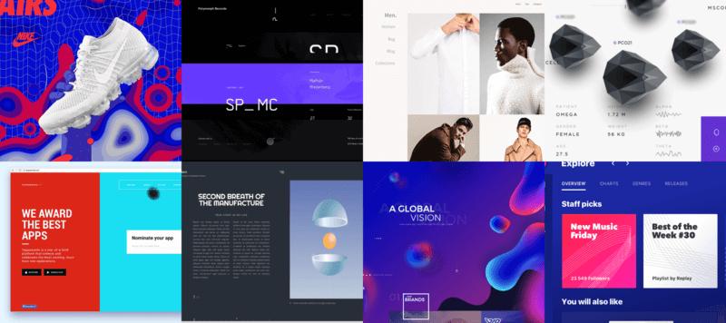 Топ 15 трендов веб дизайна