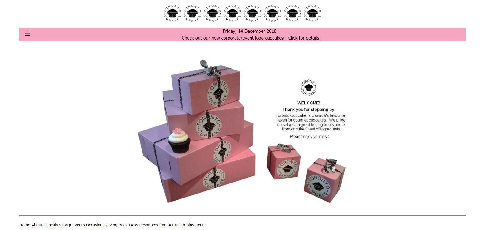 toronto cupcakes usability
