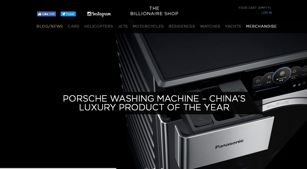 The Billionaire Shop