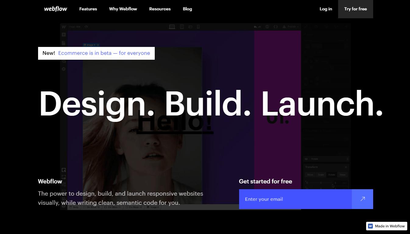 конструктор webflow