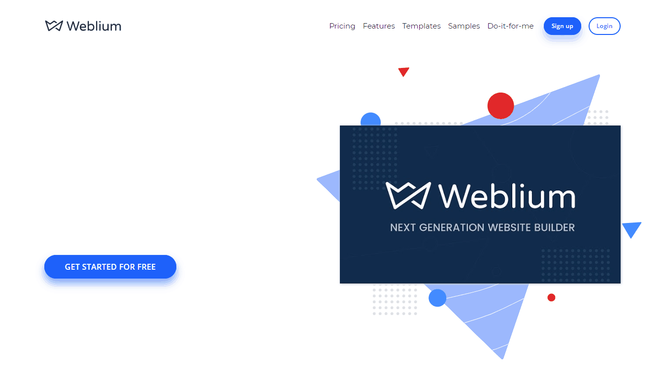 конструктор weblium