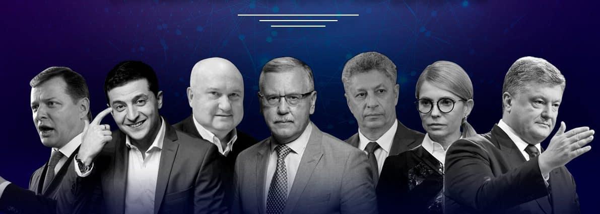 Аналіз популярності кандидатів в президенти України 2019 з точки зору інтернет-маркетингу