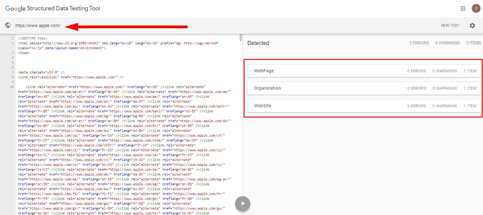 seo audit apple 026