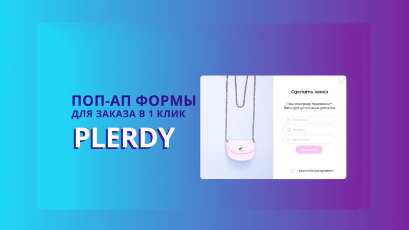 формы Plerdy для заказа в 1 клик