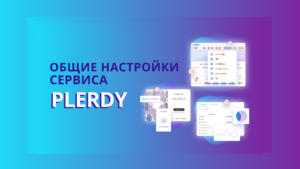 Общие настройки платформы Plerdy