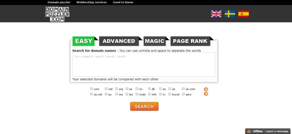 Domainpuzzler.com