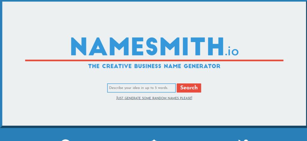 Namesmith.io