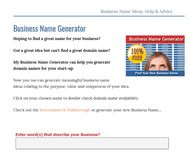 TOP 40 Services to Choose a Business Name — Plerdy