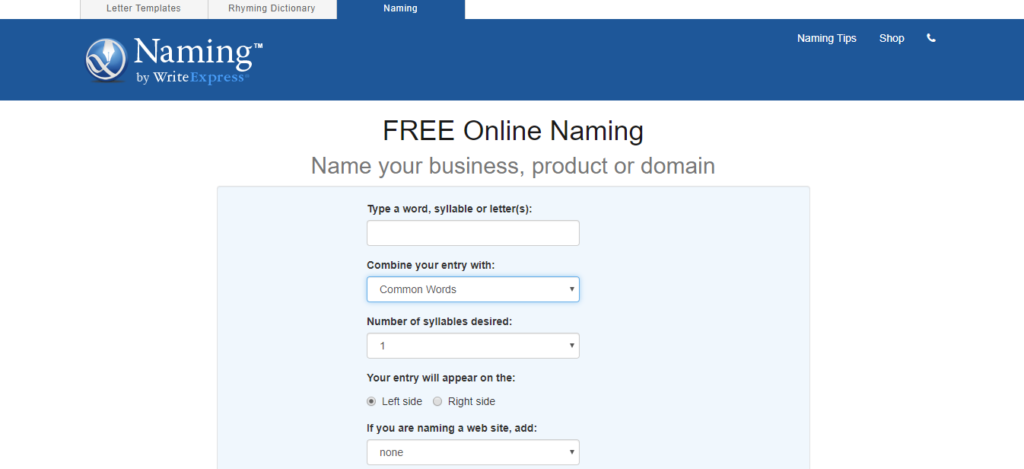 TOP 40 Services to Choose a Business Name 8