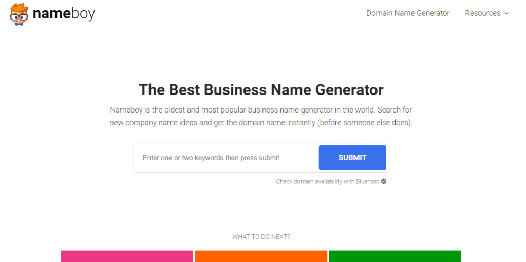 TOP 40 Services to Choose a Business Name 18