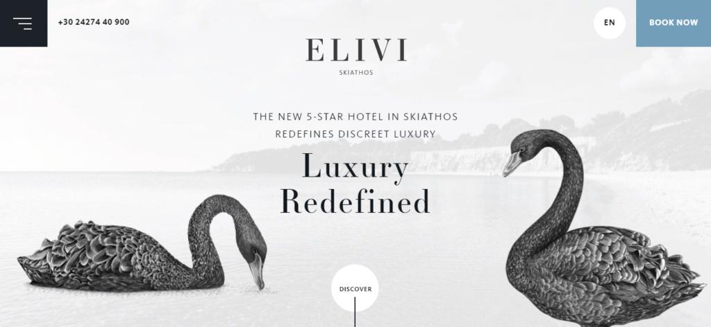 top hotel websites design 1