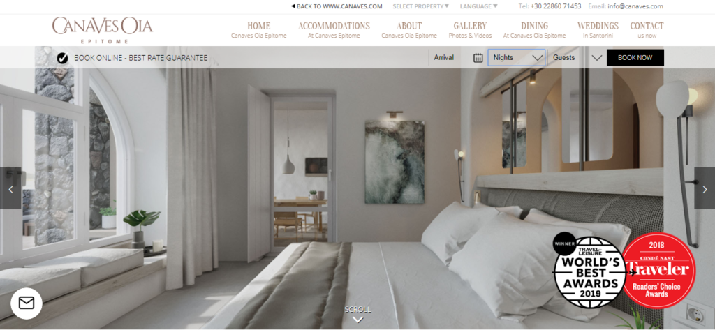 top hotel websites design 10