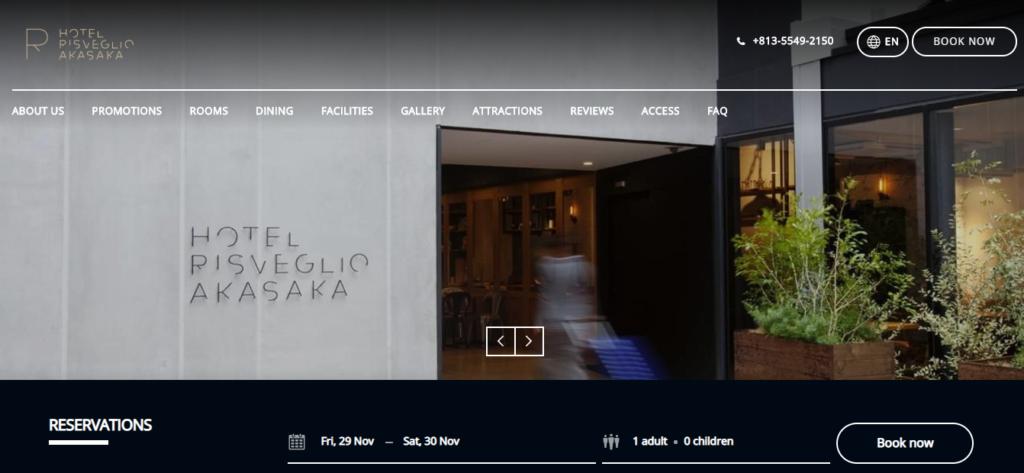 top hotel websites design 11