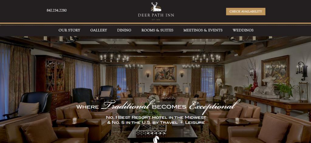 top hotel websites design 24