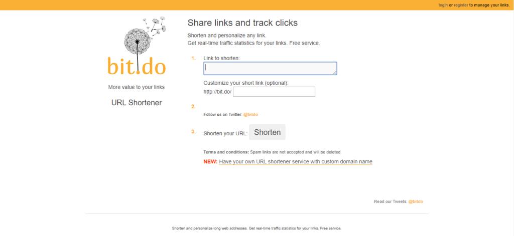 URL shortener tool 14