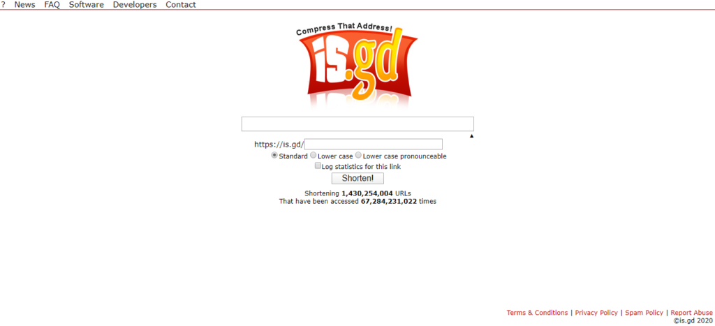 URL shortener tool 16