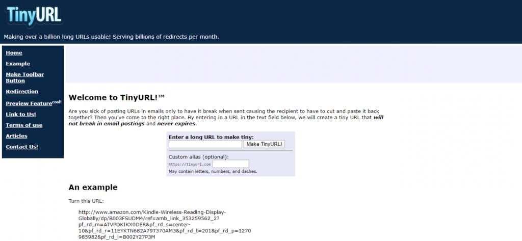 URL shortener tool 5