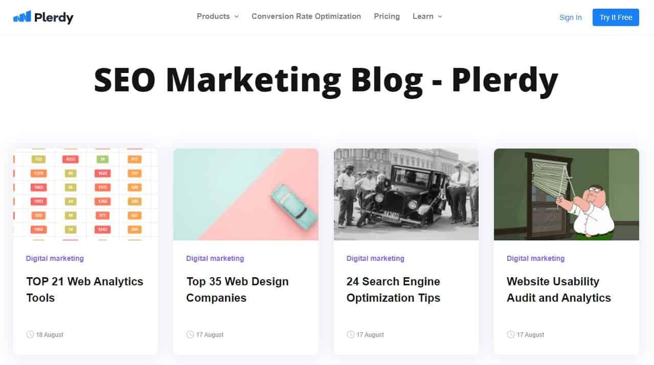 Digital Marketing Website Blogs