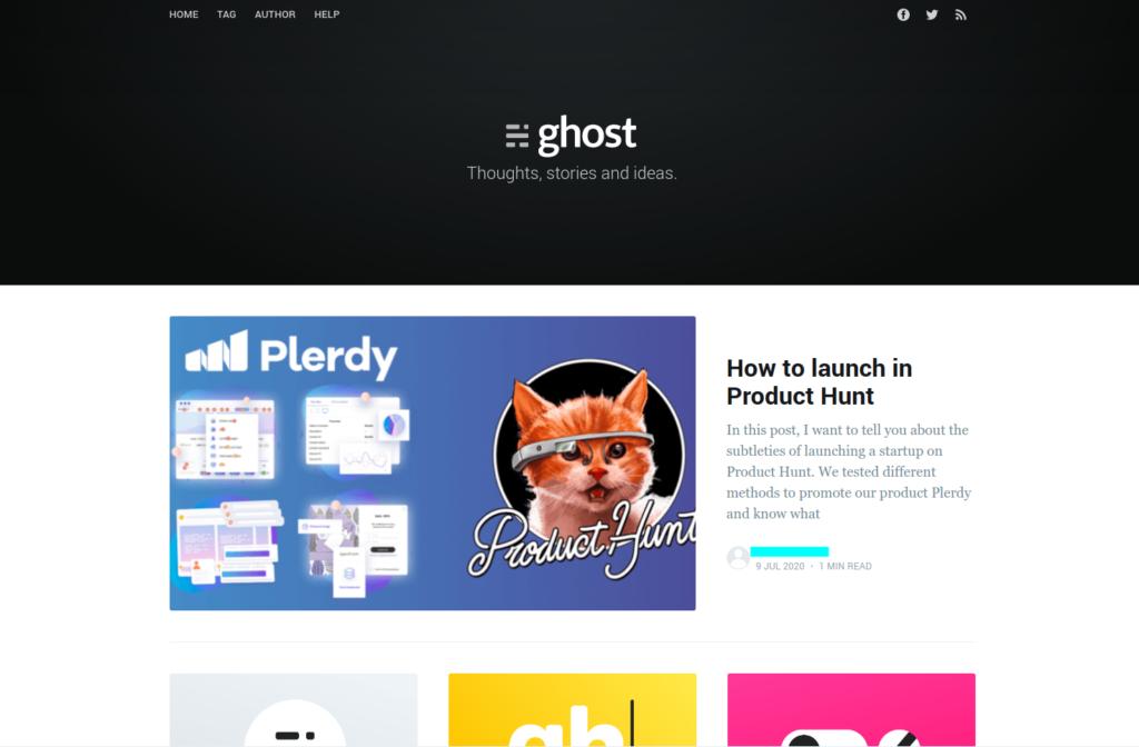 how-start-ghost-22