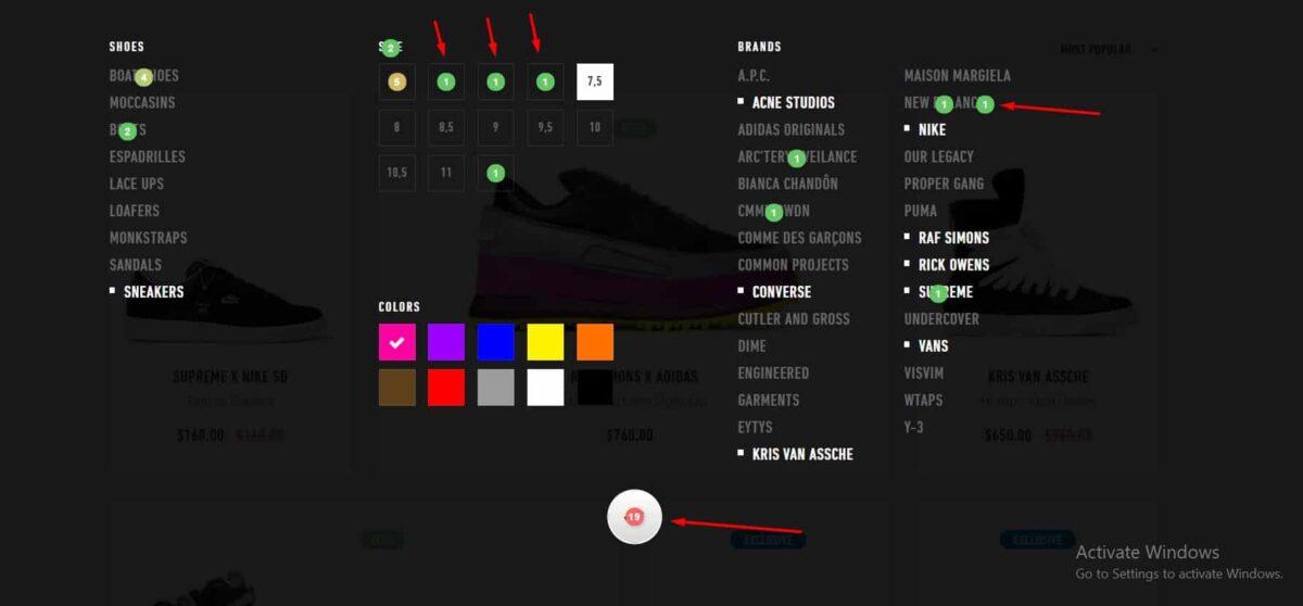 Mouse Click Heatmap
